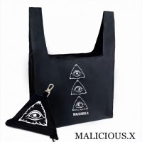 【MALICIOUS.X】EYES ECO BAG 【ポーチ付き】