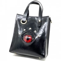 【MALICIOUS.X】DEVIL EYE SHOULDER HANDBAG / RED