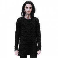 <img class='new_mark_img1' src='https://img.shop-pro.jp/img/new/icons20.gif' style='border:none;display:inline;margin:0px;padding:0px;width:auto;' />【KILL STAR】UNDERTAKER LONG SLEEVE TOP[UNISEX]