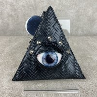 【MALICIOUS.X】EYE PASS CASE-SMOKE BLUE