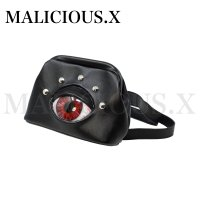 【MALICIOUS.X】EYE CROSS BODY BAG / RED