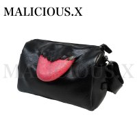 【MALICIOUS.X】TONGUE MESSENGER BAG