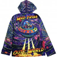 【SPACE TRIBE】JK159 DP037:SUBLIME HOODED JACKET-OUT OF THIS WORLD(UNISEX)