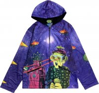 【SPACE TRIBE】JK159 DP003:SUBLIME HOODED JACKET-SPACED OUT(UNISEX)