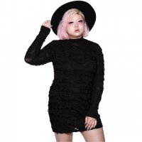 【KILL STAR】TERROR BODYCON DRESS[PLUS]