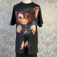 <img class='new_mark_img1' src='https://img.shop-pro.jp/img/new/icons20.gif' style='border:none;display:inline;margin:0px;padding:0px;width:auto;' />【SPIRAL】Tシャツ-GREMLINS - GIZMO(UNISEX)