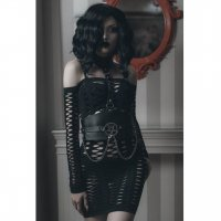 <img class='new_mark_img1' src='https://img.shop-pro.jp/img/new/icons20.gif' style='border:none;display:inline;margin:0px;padding:0px;width:auto;' />【KILL STAR】LIZZY FISHNET DRESS