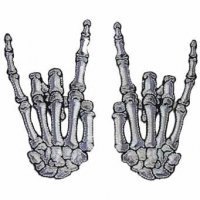 <img class='new_mark_img1' src='https://img.shop-pro.jp/img/new/icons20.gif' style='border:none;display:inline;margin:0px;padding:0px;width:auto;' />【KREEPSVILLE666】DEVIL BONE HAND REG PATCH