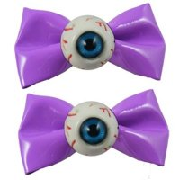 【KREEPSVILLE666】EYEBALL HAIRSLIDE-PU