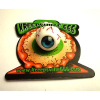 【KREEPSVILLE666】EYEBALL RING BLUE