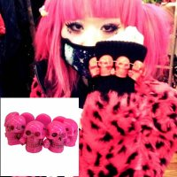 【KREEPSVILLE666】PINK SKULL COLLECTION BRACELET