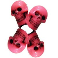★【KREEPSVILLE666】PINK SKULL COLLECTION HAIR BANDS