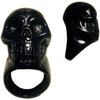 <img class='new_mark_img1' src='//img.shop-pro.jp/img/new/icons20.gif' style='border:none;display:inline;margin:0px;padding:0px;width:auto;' />★【KREEPSVILLE666】BLACK SKULL COLLECTION RING