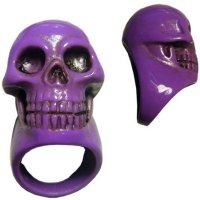 <img class='new_mark_img1' src='//img.shop-pro.jp/img/new/icons20.gif' style='border:none;display:inline;margin:0px;padding:0px;width:auto;' />【KREEPSVILLE666】PURPLE SKULL COLLECTION RING