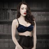 【KISS ME DEADLY】BLUE DEVILLE BRA