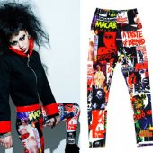 <img class='new_mark_img1' src='https://img.shop-pro.jp/img/new/icons20.gif' style='border:none;display:inline;margin:0px;padding:0px;width:auto;' />【CHARLES OF LONDON】HORROR FLICK LEGGINGS