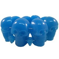 <img class='new_mark_img1' src='//img.shop-pro.jp/img/new/icons20.gif' style='border:none;display:inline;margin:0px;padding:0px;width:auto;' />【KREEPSVILLE666】BLUE GLOW SKULL COLLECTION BRACELET