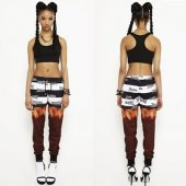 【W.I.A】GIRLY PRISION SWEATPANTS