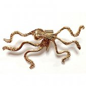 5B1/2【EG SELECT】OCTOPUS EAR CUFF-GOLD