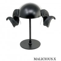 【MALICIOUS.X】HORN ACCESSORY / SHEEP BLACK