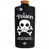3B1F【VALFRE】POISON 3D IPHONE CASE(BLACK)