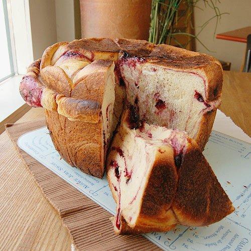 ハスカップの鍋パン