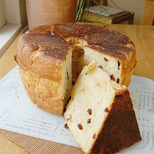 レーズンの鍋パン