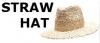 ストローハット STRAW HAT
