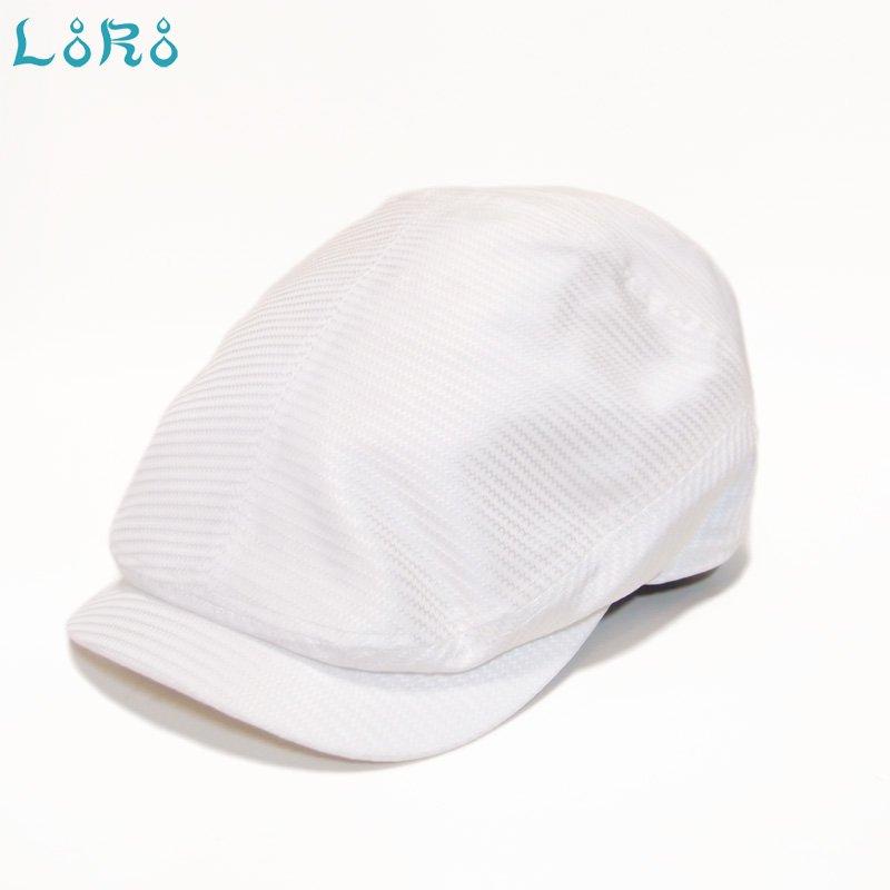 ドラグハンチング・ホワイト・フリーサイズ(57.5-61cm)