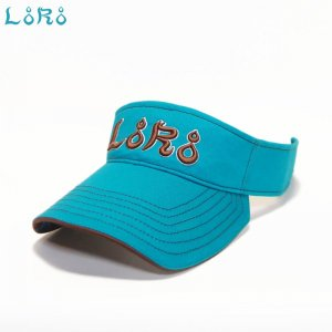 LoRoスポーツバイザー・シロ・フリーサイズ(57.5-61cm)