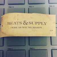 FEBB AS YOUNG MASON「BEATS & SUPPLY」初回限定特典CD付CD