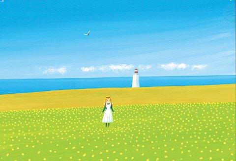 ポストカード No.124【赤毛のアン〜Your Little Anne〜】