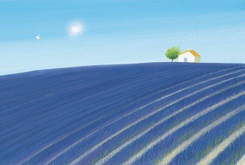 ポストカード No.141【Lavender's Blue】