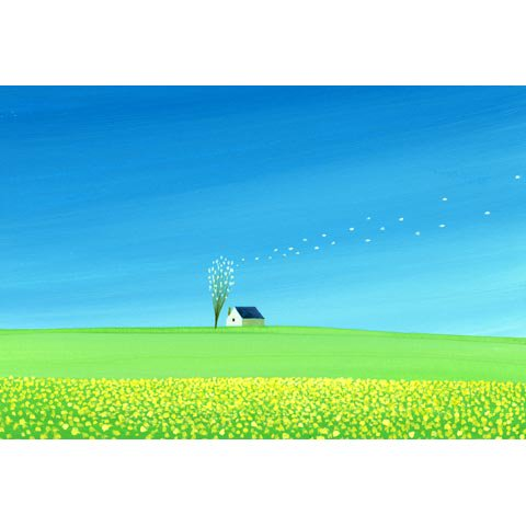 アートグラフ【春の風】太子サイズ