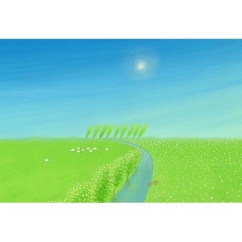 アートグラフ【安らぎの風景】太子サイズ