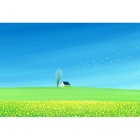 アートグラフ【春の風】大衣サイズ