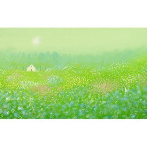 アートグラフ【妖精の棲む森】大衣サイズ