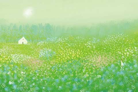 ポストカード No.115【妖精の棲む森】
