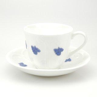 Bla Blom/ GUSTAVSBERGグスタフスベリ コーヒーカップ&ソーサー-2