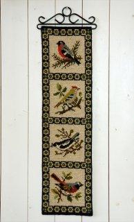 TVIST ツヴィスト刺繍 鳥4連