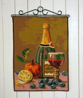 TVIST ツヴィスト刺繍 ワインと果物