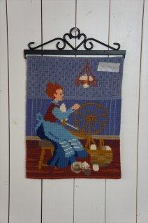 TVIST ツヴィスト刺繍 糸紡ぎ