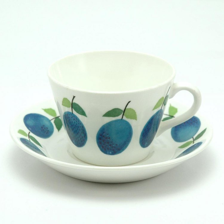 Prunus/ GUSTAVSBERG coffeeカップ&ソーサー 北欧