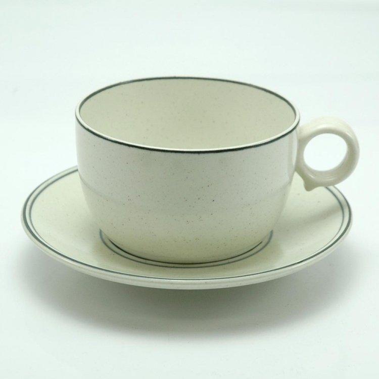 Birka/ GUSTAVSBERG Teaカップ&ソーサー1 北欧