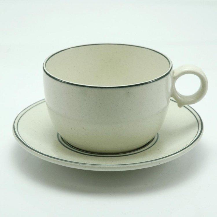 Birka/ GUSTAVSBERG Teaカップ&ソーサー2 北欧