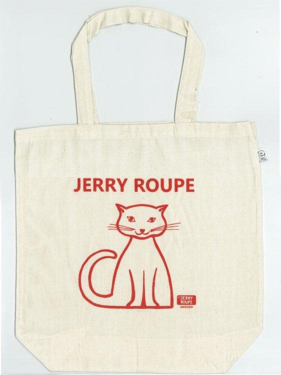 JERRY ROUPE コットンバッグ ねこ