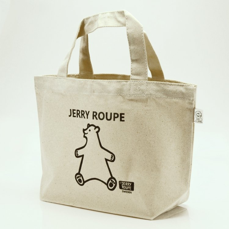 JERRY ROUPE キャンバストートバッグ くま