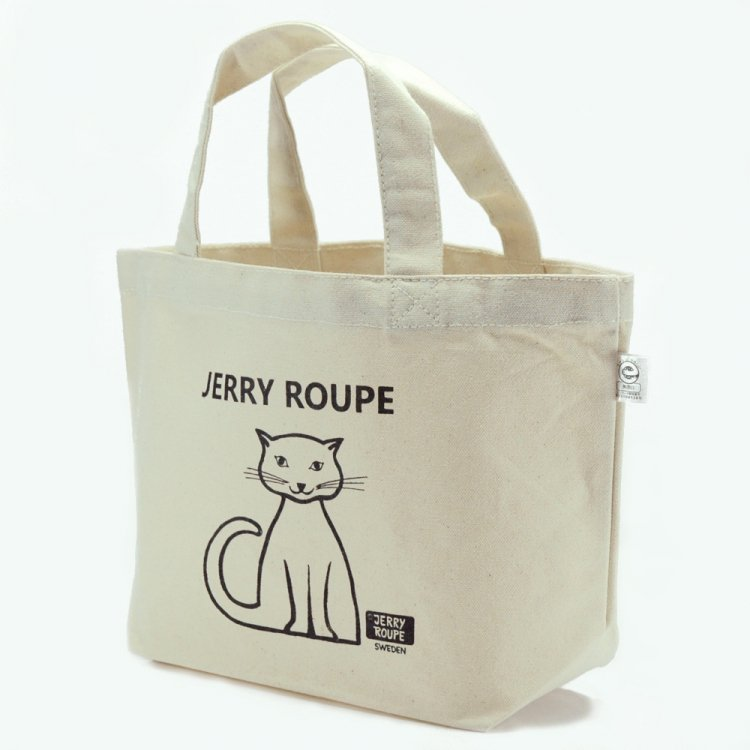 JERRY ROUPE キャンバストートバッグ ねこ
