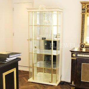 イタリア高級家具【TURRI−トゥーリ】1ドアガラスキャビネット(W91×D44×H206cm)