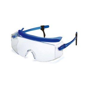 度付きめがねの上から装着しやすい【オーバーグラス】フリーサイズ<テンプル角度調節3段階調整可能>